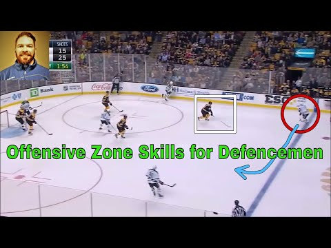 Offensive Zone Skills for Defenceman (Strong Side)