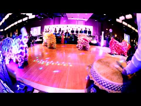 GANGNAM STYLE LION DANCE PERFORMANCE 2012
