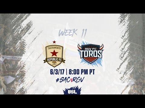 USL LIVE - Sacramento Republic FC vs Rio Grande Valley FC 6/3/17