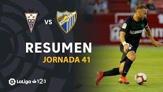 Resumen de Albacete BP vs Málaga CF (1-2)