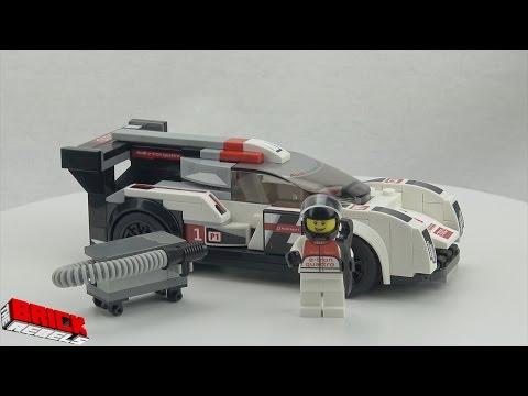 LEGO Speed Champions set 75872 Audi R18 e-tron quattro - Speed Build