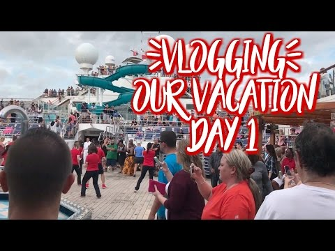 Vacation Vlog - Road Trip & 1st Day on Cruise Ship New Year's Cruise
