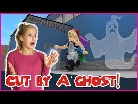 CUT BY A GHOST!