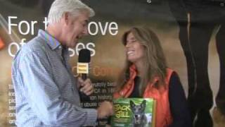 Jill Rappaport At The Hampton Classic With R. Scot Evans Vvh-tv