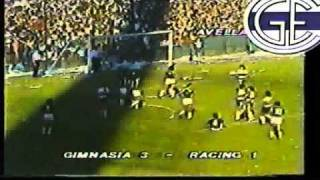 Racing - Gimnasia / Final Octogonal 1984 Ida