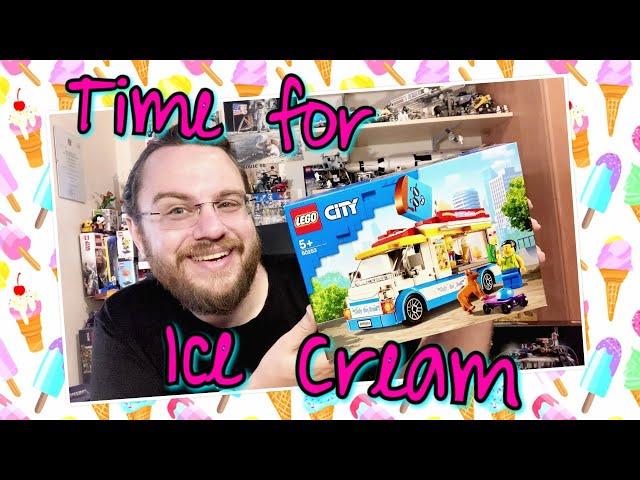 Summer Time Is Ice Cream Time – Ice Cream Van (Lego City 60253)