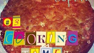 cooking time готовим шарлотку с брусникой и с яблоком \\ Polina Alonco