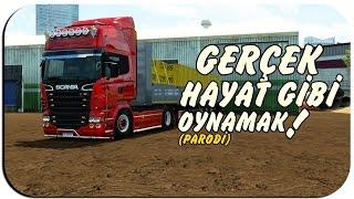 Euro Truck Simulator 2 - Gerçek Hayat Gibi Oynamak / Türkçe