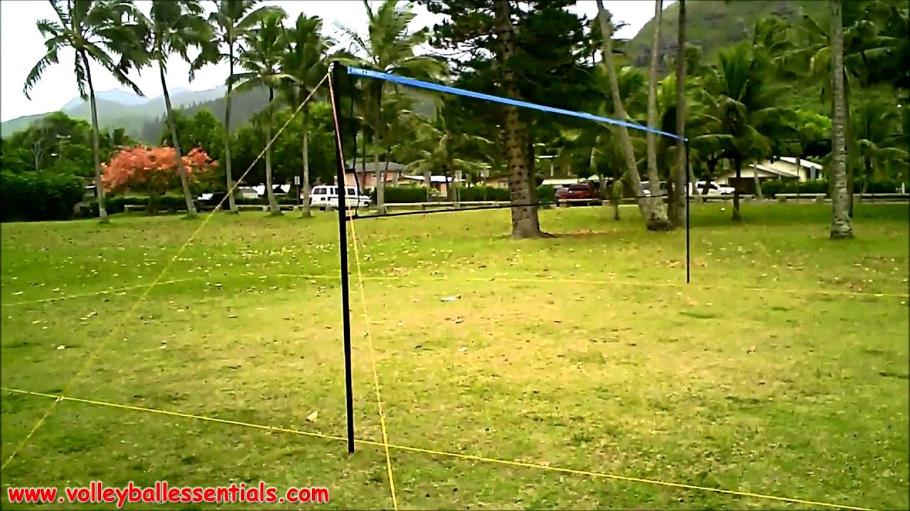 park & sun tournament 179 outdoor volleyball net system review