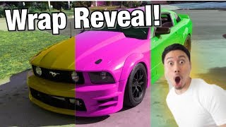 I Wrapped My Car Myself, This Is What Happened... (New Wrap Reveal)