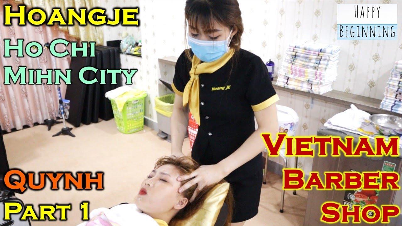 Vietnam Barber Shop QUYNH II PART 1 - Hoangje (Ho Chi Mihn City, Vietnam)