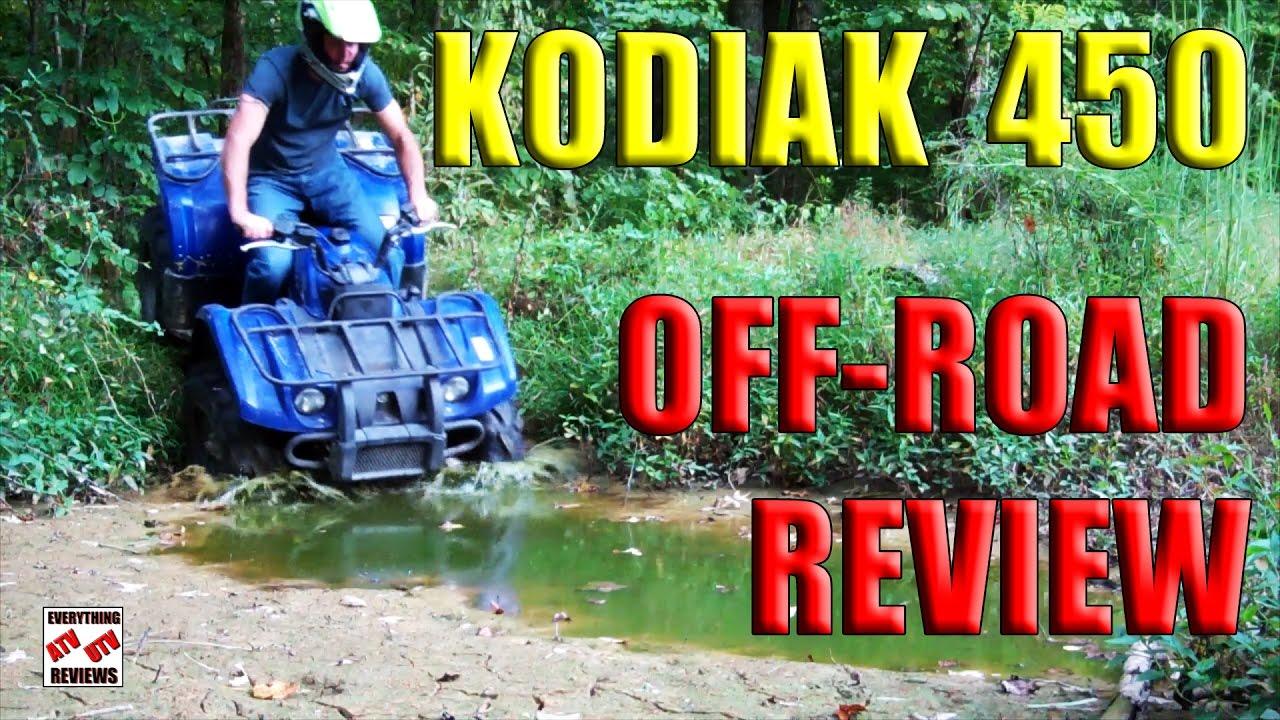 2004 Yamaha Kodiak 450 Test Review - Full Throttle Review