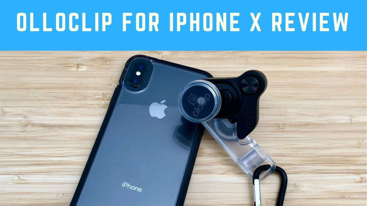 hot sale online 38cb0 926e2 Olloclip Lens for iPhone X Review: Connect X System