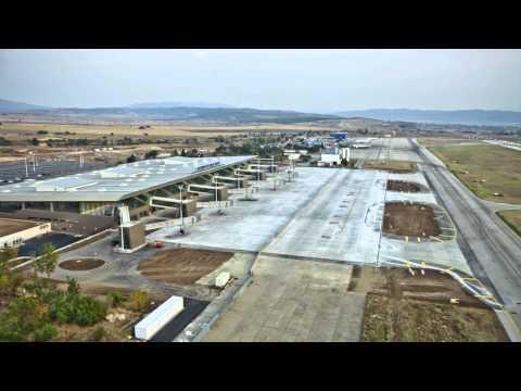 New Skopje Alexander the Great Airport