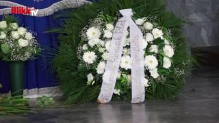 Rajhona Ádám temetése