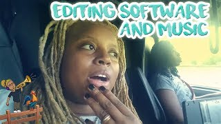 Nic & Carla Vlog Editing Software & Music