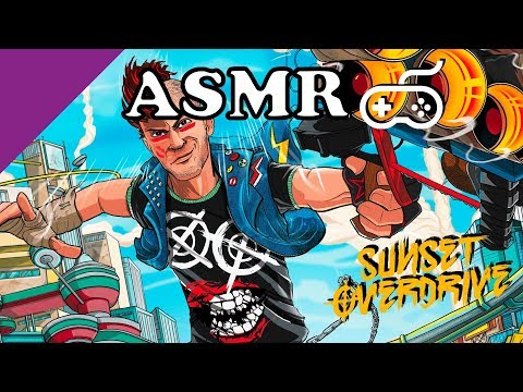 [ASMR No Talking] Sunset Overdrive - Controller Sounds