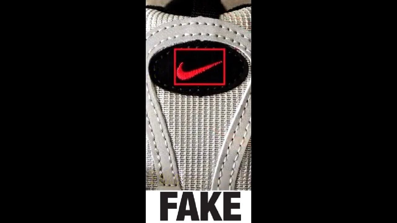 sports shoes 750c3 f7ec3 Кадр из видео How To Spot Fake Nike Air Max 97 Sneakers   Trainers  Authentic Vs
