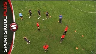 How to Improve Your Soccer Footwork Part One with Mia Hamm