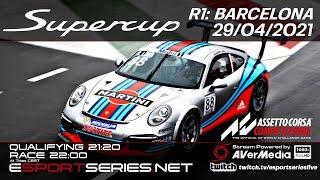 ESPORTSERIES.NET | SUPERCUP 2021 | R1 | BARCELLONA