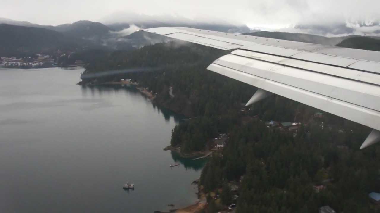 Approach Amp Landing Juneau Airport Alaska Alaska Airlines