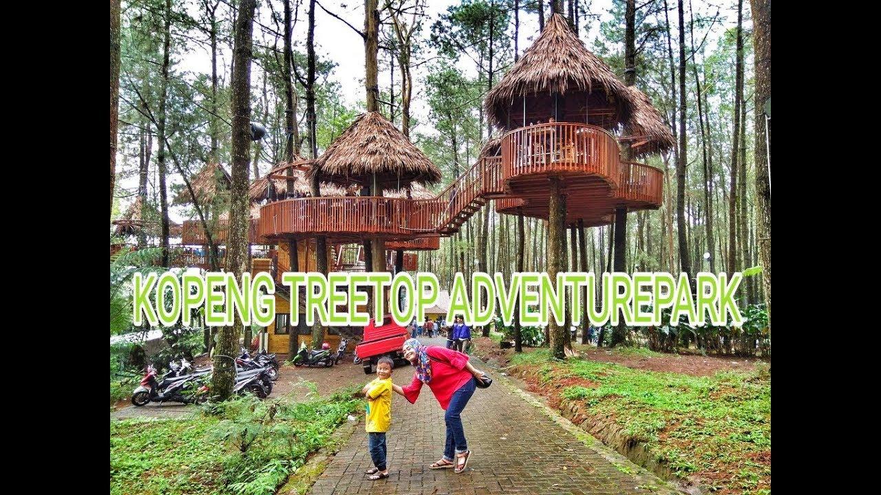 Kopeng Treetop Adventure Park, Wisata Alam Outbond