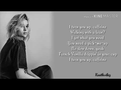 Lolo Zouaï - Caffeine (Lyrics)