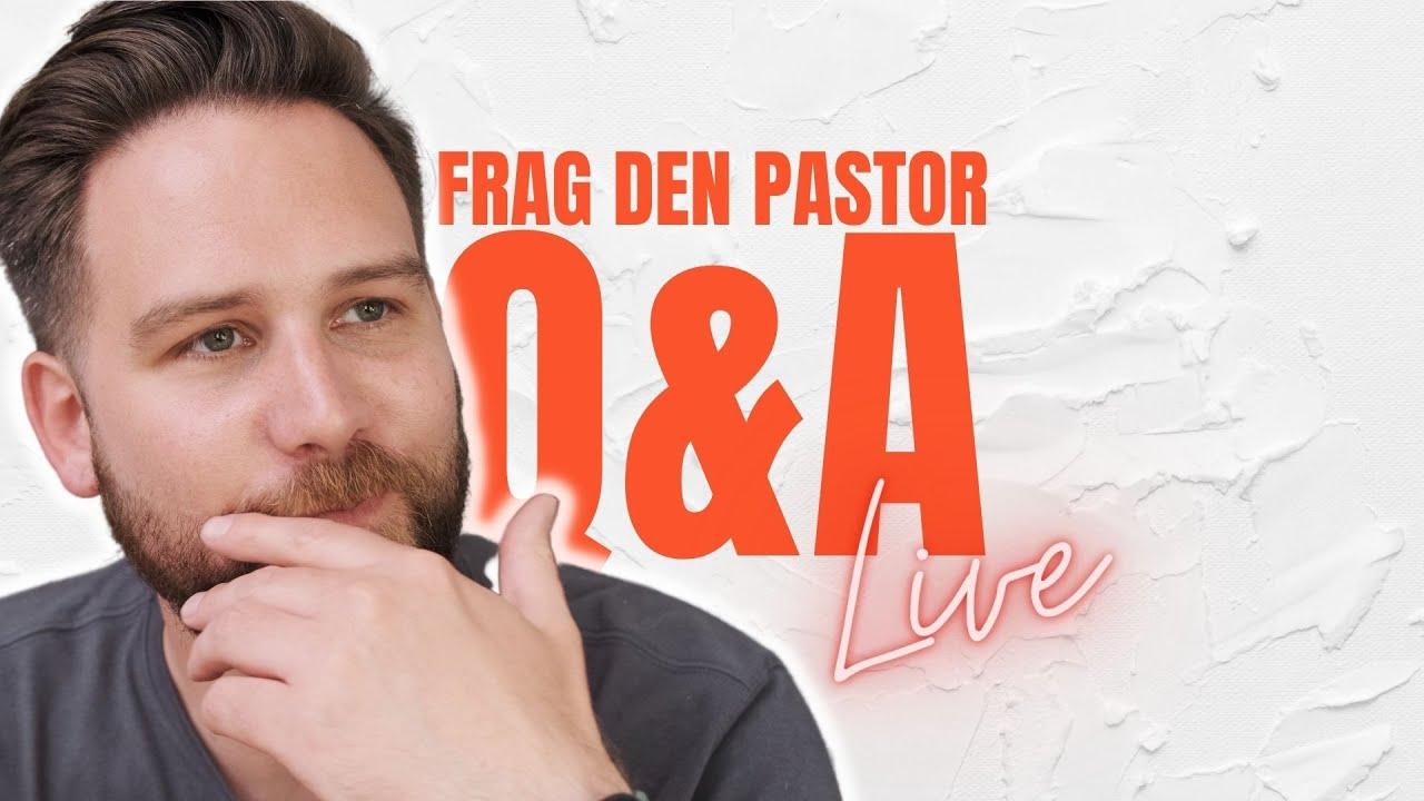 Taufe, Gebet, Fasten, andere Religionen // Frag den Pastor (Live!)