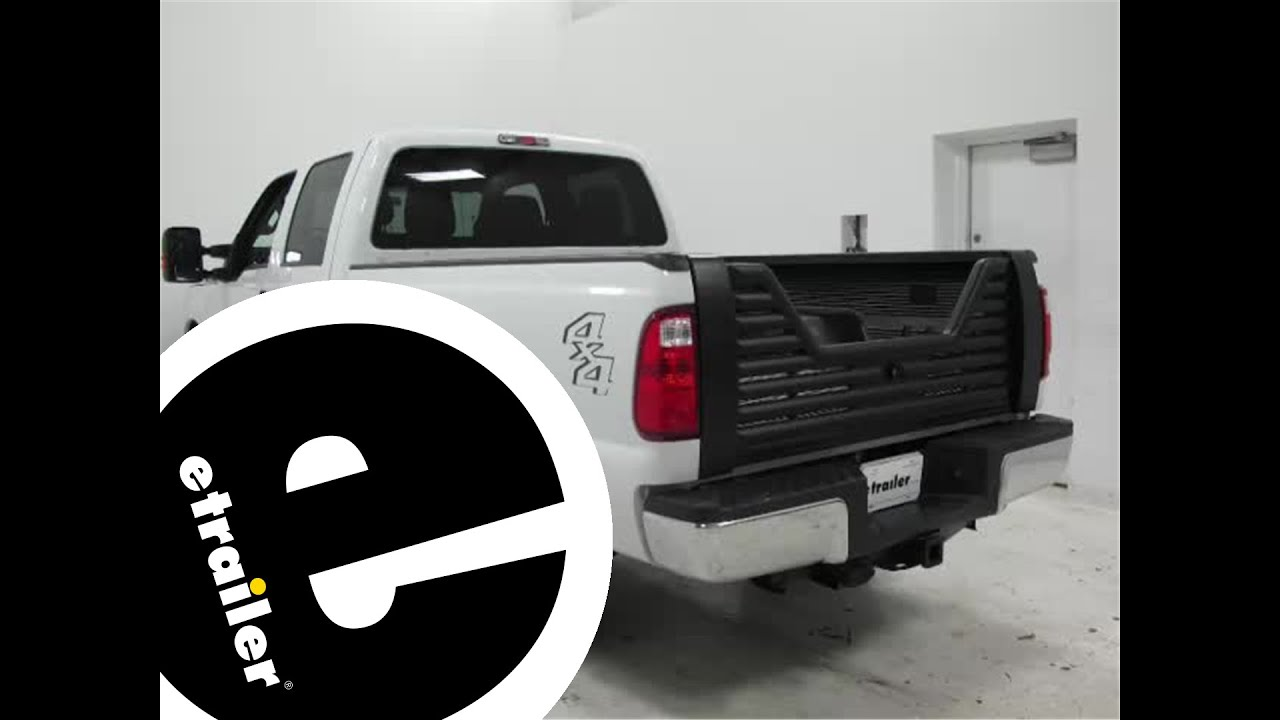 Installation of the stromberg carlson tailgate on a 2016 ford f 250 etrailer com