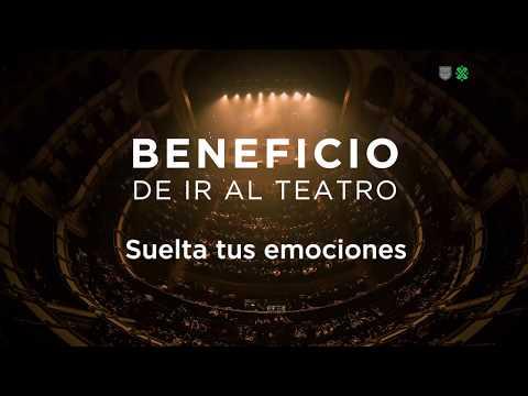 Beneficio de ir al teatro: Suelta tus emociones