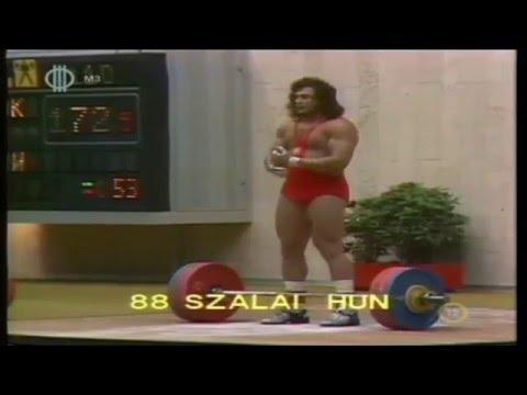 Szalai György  Olympic Weightlifting  1980  Moscow  110kg