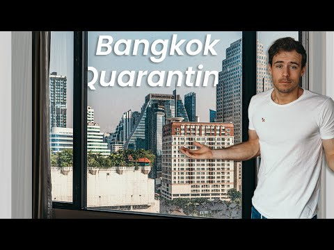 TRAVELING TO THAILAND and MY QUARANTINE | vlog⁴₂₀₂₁