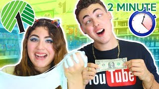 SLIME SUPPLY IN PUBLIC UNDER 2 MINUTES | Dollar tree slime supply