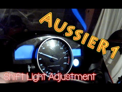 2005 Yamaha R1 Shift Light Adjustment