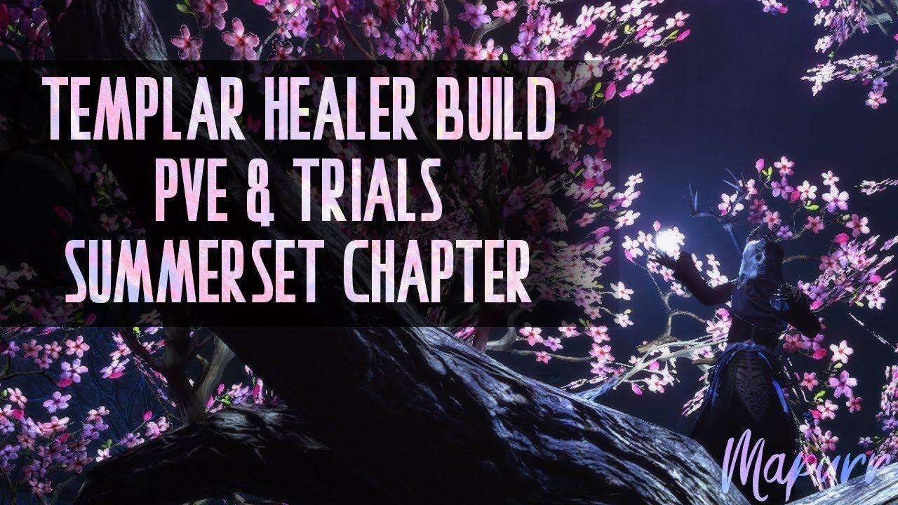 Summerset Templar Healer Build for Trials & Healing Meta