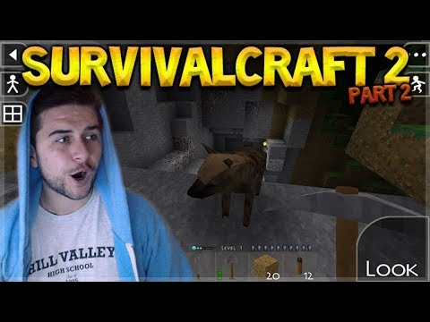 SurvivalCraft 2 - WE FINALLY DID IT!! ADVENTURING NEW LANDS! Let's Play (2)