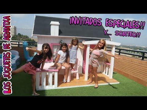 Visita De Amigos Youtubers + SORTEO Nancys - Silvia Sanchez, Annie Vega Y Juega Ainhoa