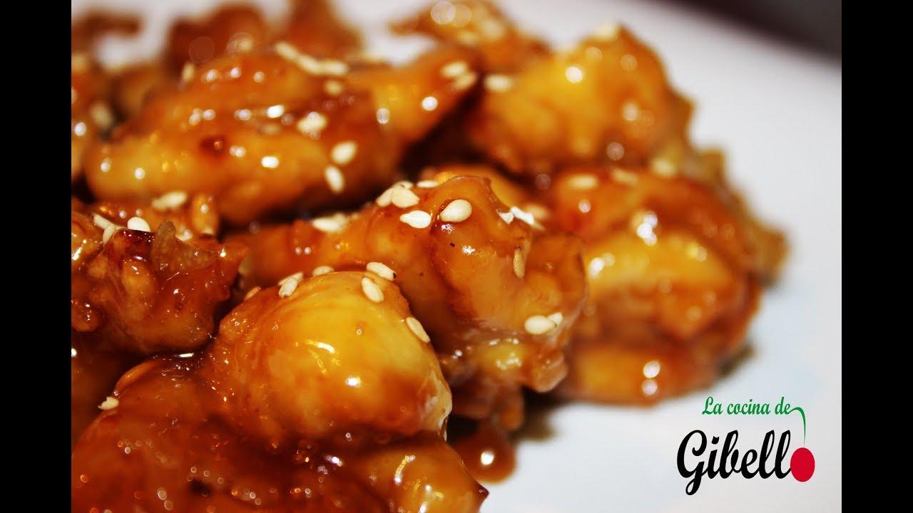 como hacer pollo en salsa de naranja comida china
