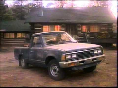 1985 Nissan truck / Datsun 720 commercial. - YouTube