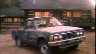 1985 Nissan truck / Datsun 720 commercial.
