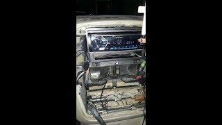 instalando autoestereo pioneer mvh-s305bt