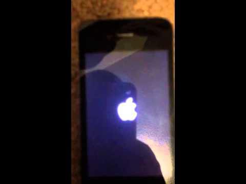Help My iPhone 4 got stuck on the apple lego