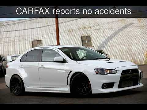 2017 Mitsubishi Lancer Evolution Gsr Used Cars Burbank California 10 11