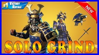 "NEUE ""BUSHIDO"" SKIN in FORTNITE - SOLO GRIND 