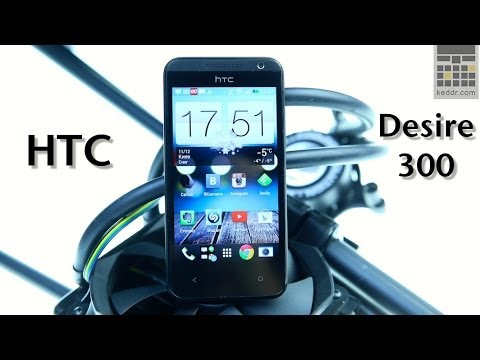 HTC Desire 300 -- обзор смартфона от Keddr.com