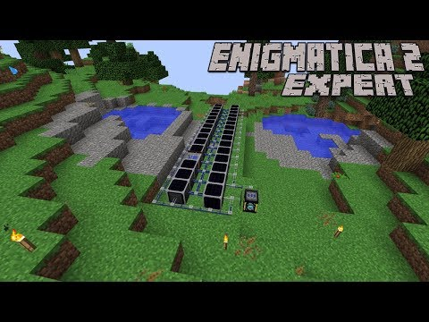Overclockers and Fuel Rods : Enigmatica 2 Expert Lp Ep #22 Minecraft