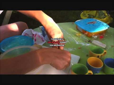 tuto pâte à modeler maison - YouTube