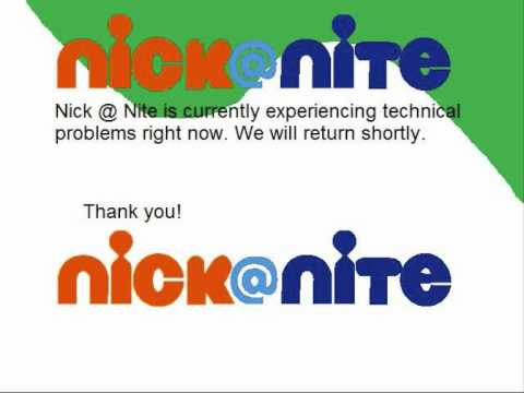 nick @ nite logo change - youtube