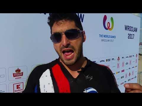 The World Games 2017: Cedric Veiga Rios goes a long, long way
