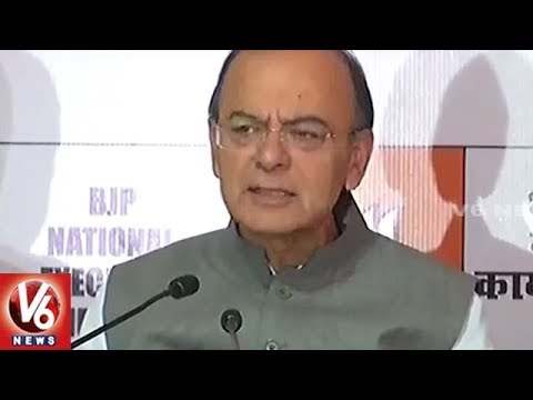 Union Ministers Attends For BJP National Executive Meeting In Delhi   V6 News
